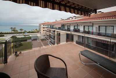 Apartment with sea view on Maresme Coast not far away from Barcelona